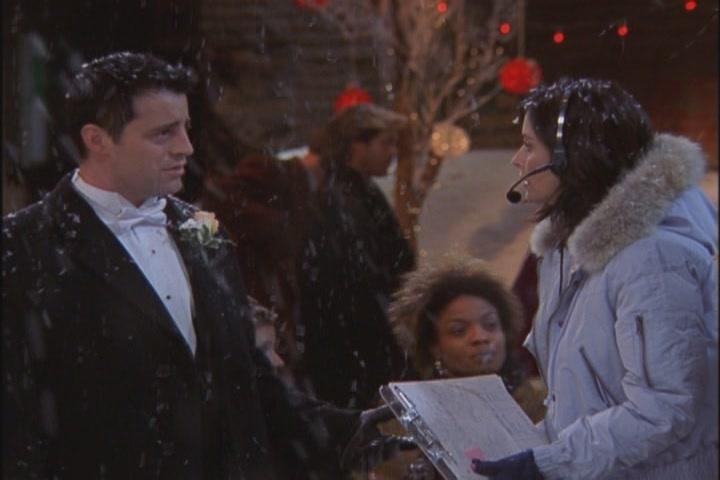 monica geller officious domineering strict phoebe wedding