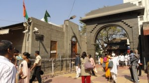 Shirdi from outside temple