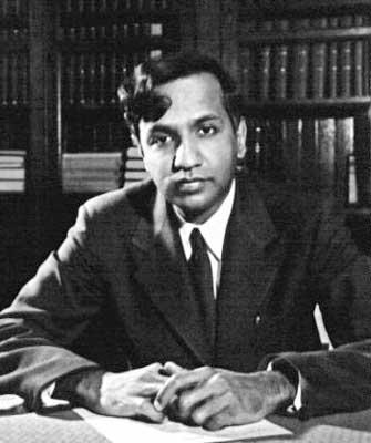 Chandrashekhar Subrahmanyam picture young