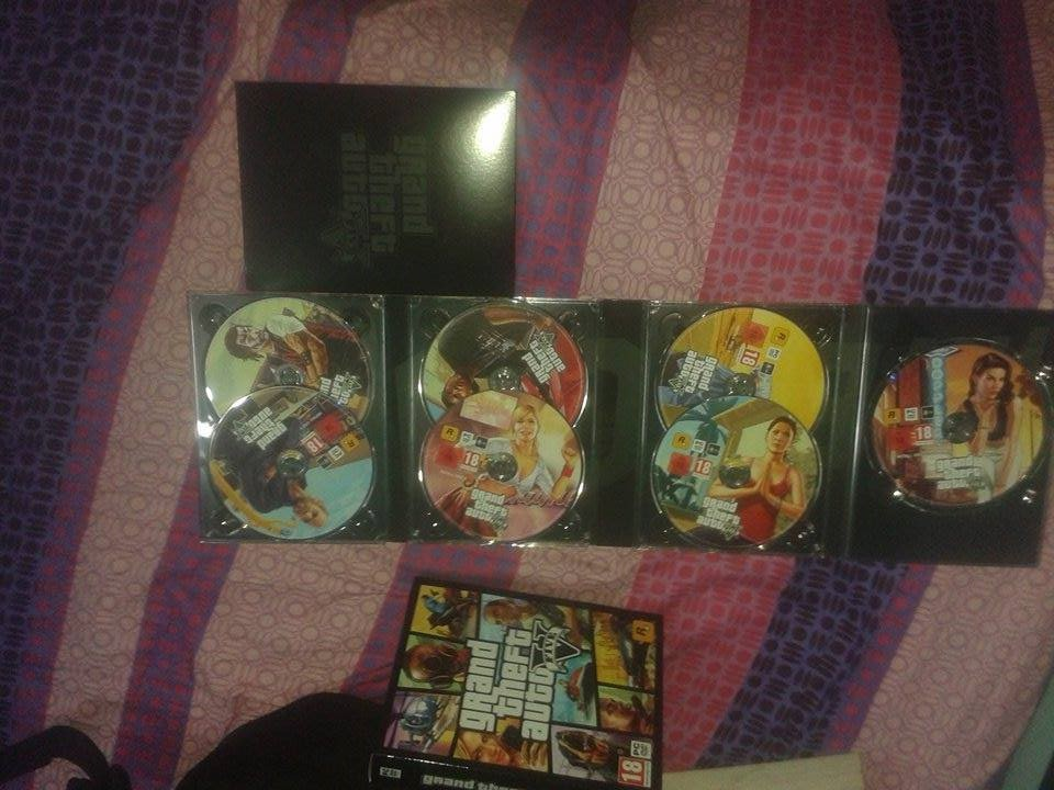 gta v dvd images 7 collection double layered
