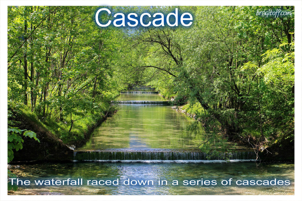 cascade waterfall beautiful scenic scenery cascade definition
