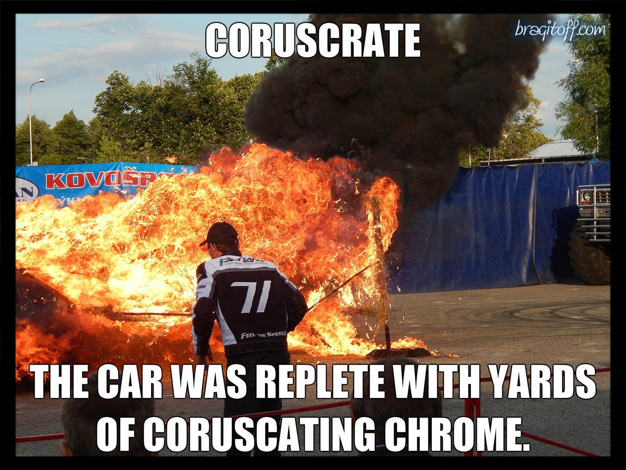 coruscrate definition sentence image visual meaning definition visual dictionary meaning bragitoff