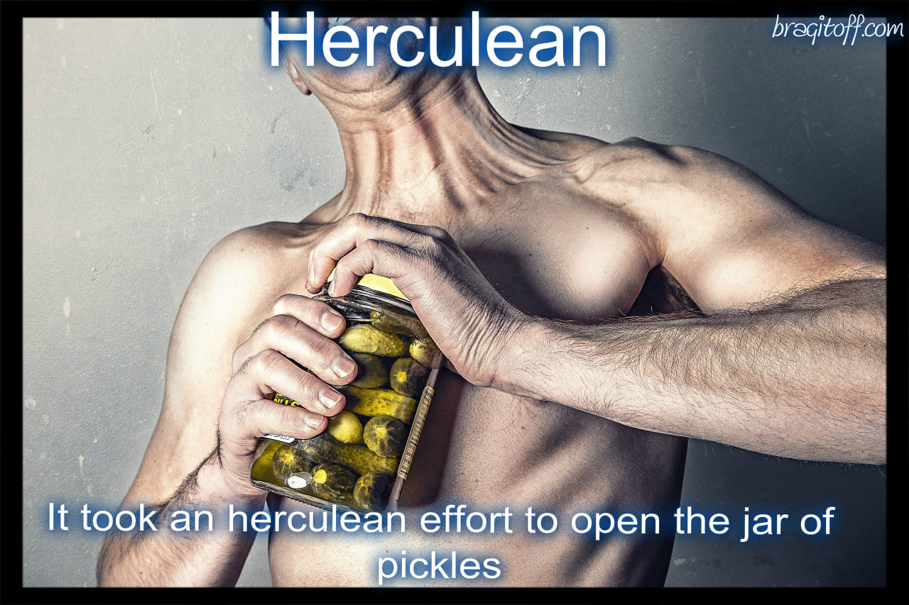 man topless effort force pressure strengthstrong apply jar open pickles