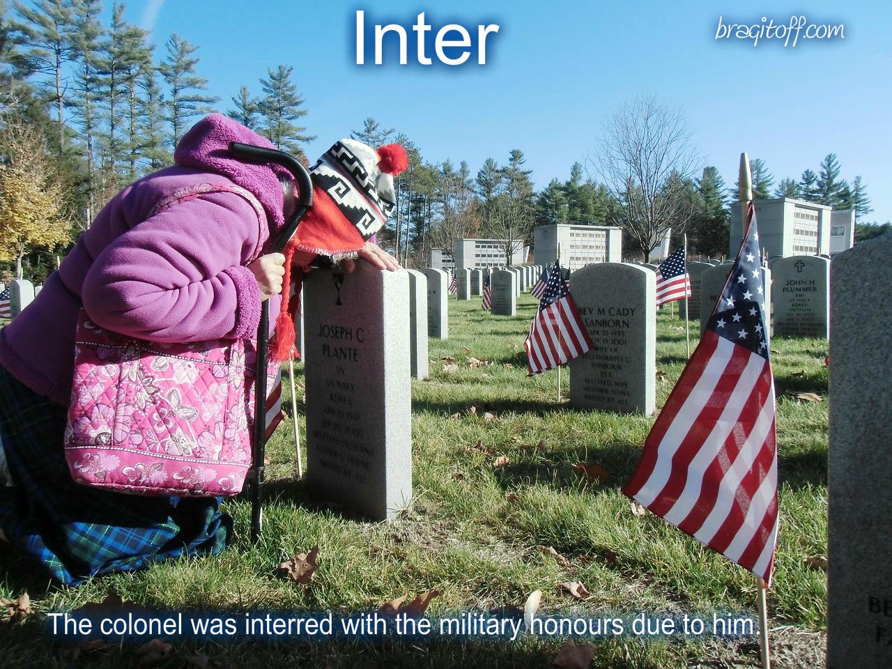 mourn, bemoan, lament grave, funeral