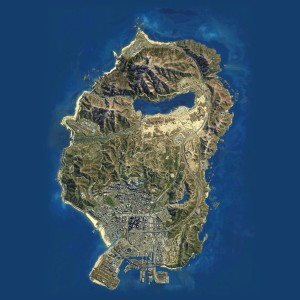 GTAV HD MAP satellite