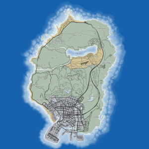 GTA V_ROADMAP_HD 2048x2048