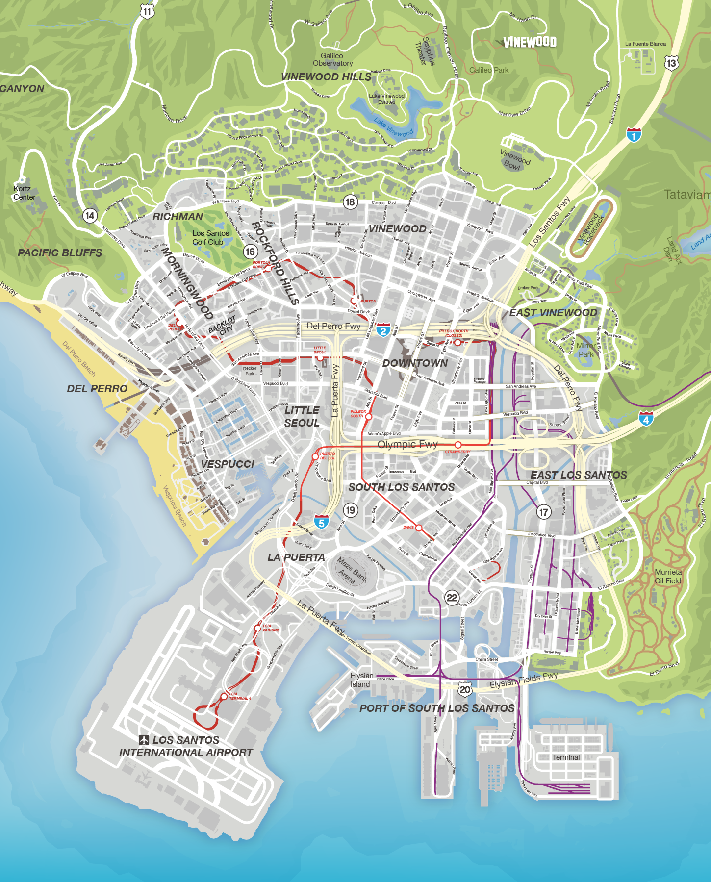 GTA V Maps QuadUltra High Definition 8K Quality