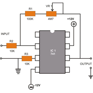 Pin-Configuration-of-741-Op-amp-Diagram