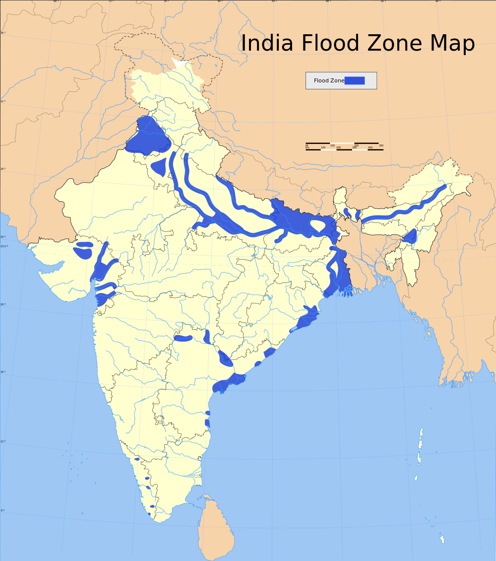 India-Flood-Zone-Map