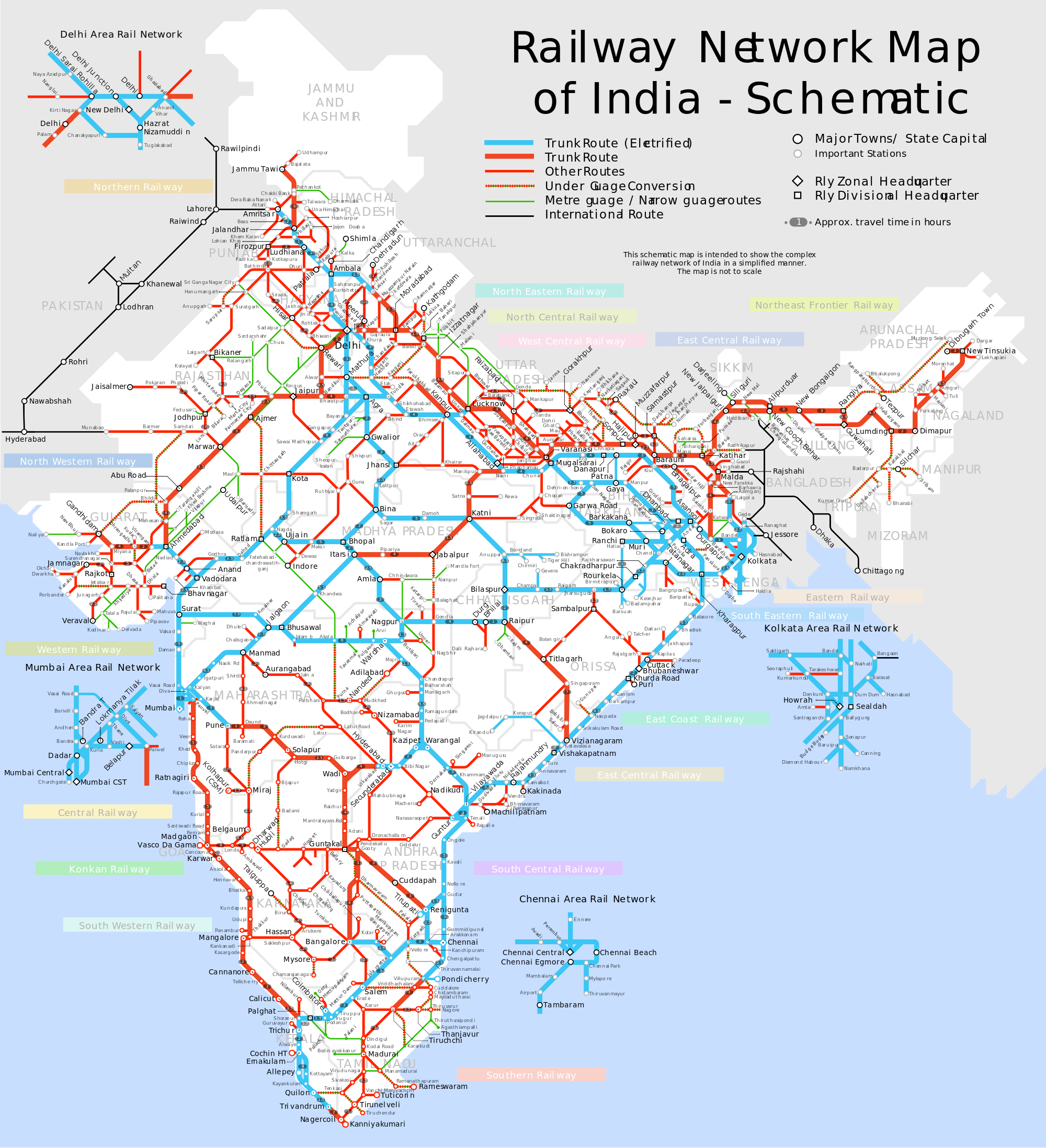 Indian-Road-Map