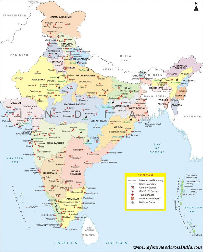 Ooty In India Map.Different Types Of Maps Of India Bragitoff Com