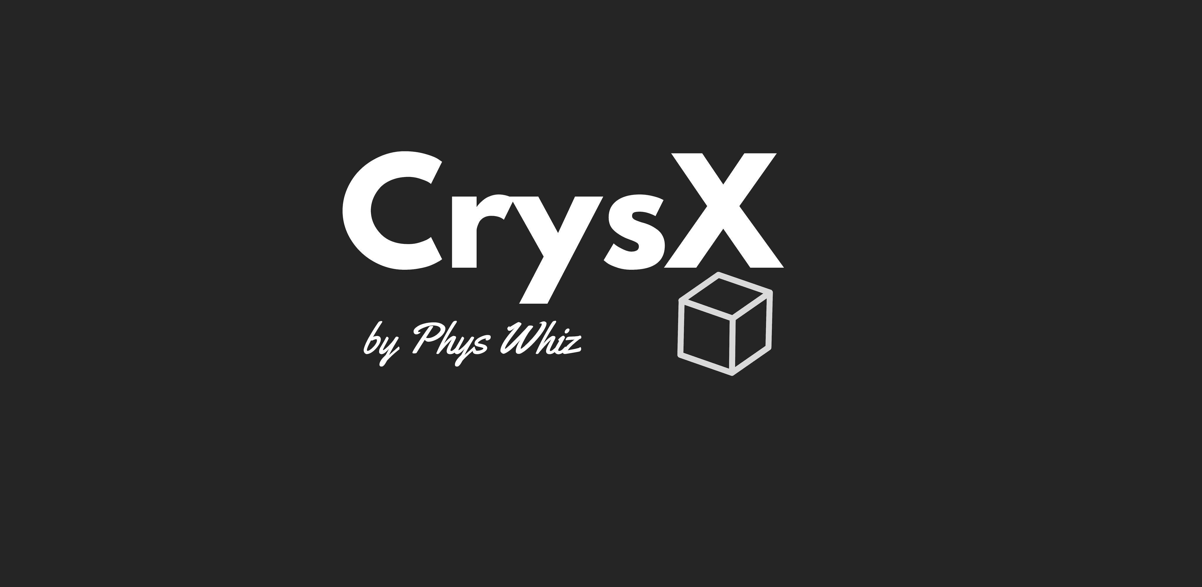 CrysX by Phys Whiz manas sharma crystal molecule viewer